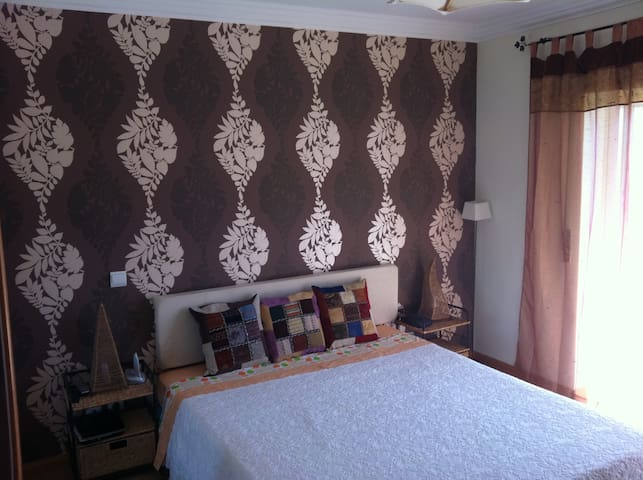 Main bedroom  (King size Bed  1,60m x 2m)