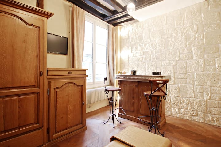 Nice studio Paris Marais / Bastille