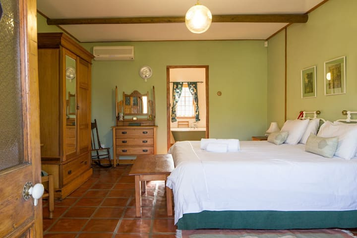 Bushwillow self-catering room on a smallholding