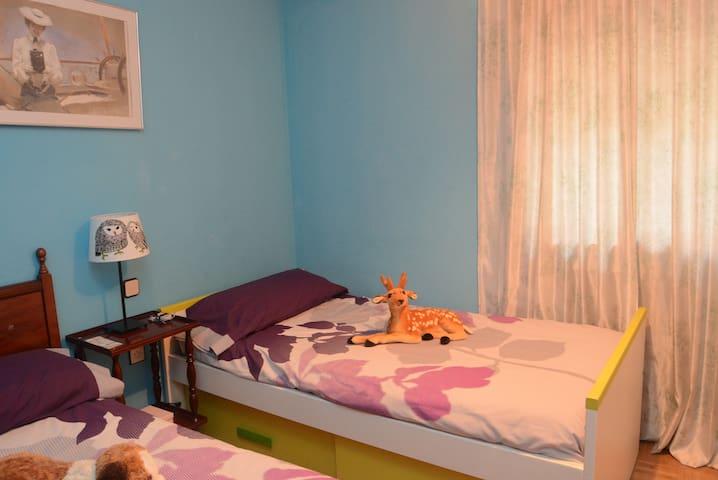 Habitación, baño privado y desayuno - Madrid - Dům