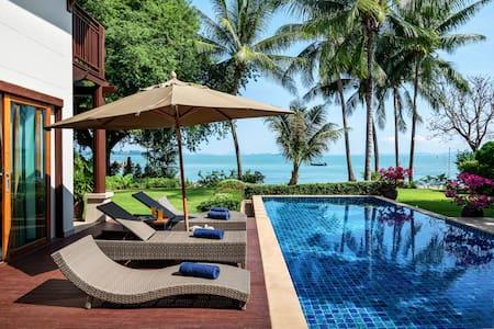 Beachfront 3 Bedroom Villa Phuket Private Island