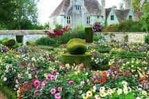 Avebury manor. Beautiful gardens. Each room inside decorated in a different era. Try Elisabeth an herb bed or dress as a Tudor.  Vintage 30s tea rooms.