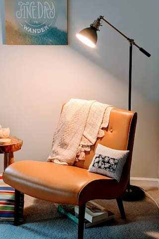 Reading nook and comfy chair
