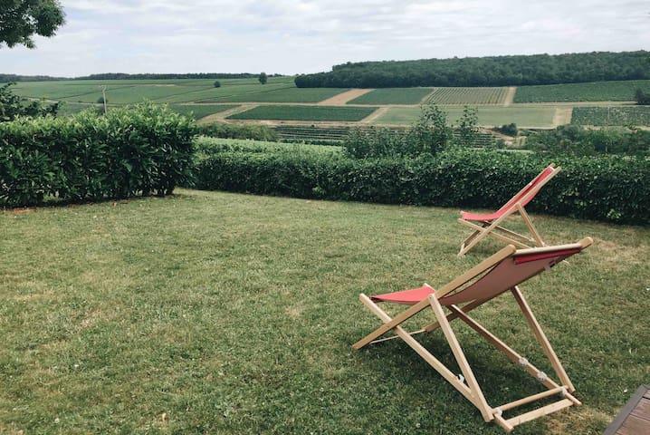 Cottage 4 étoiles - Vue panoramique sur les vignes