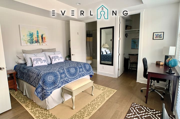 Stay N Play in CLT! Private 1bed/1bath-Brand new!