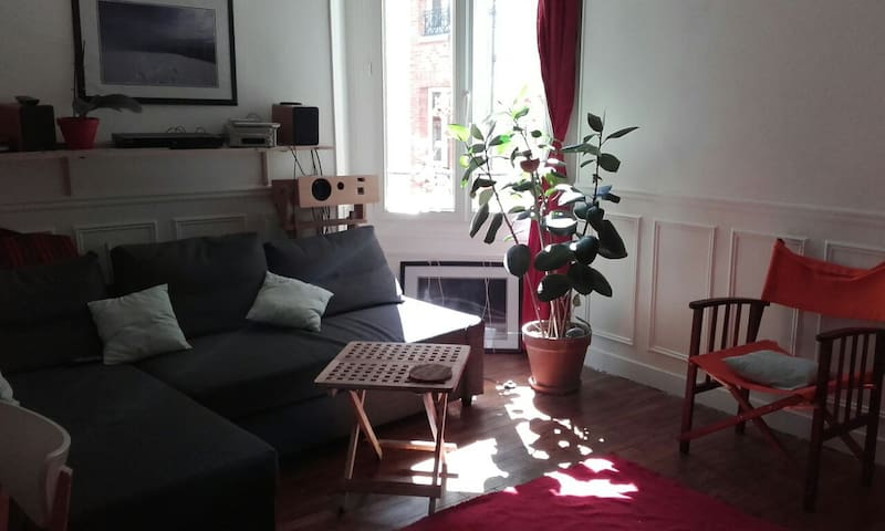 Nice flat near Montparnasse 35m2 - Paris - Apartemen