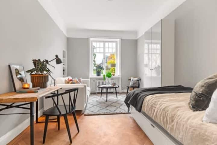 Beautiful newly renovated studio in Östermalm