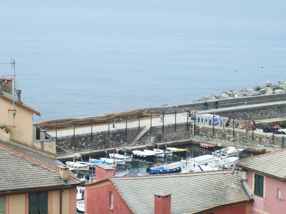 Vista dalla Finestra sul Porto