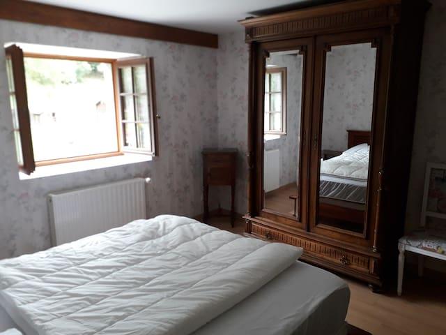 Chambre 1 lit king size