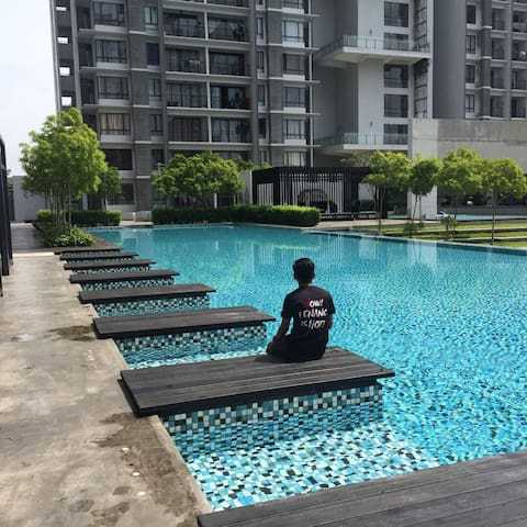 Wellesley Residences (1BR) studio@ Butterworth