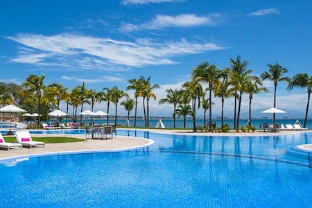 House or room in a complex with amazing beach club - Bucerías