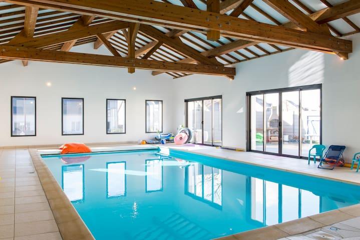 Maison et piscine n 39 h sitez plus h user zur miete in for Piscine de carquefou