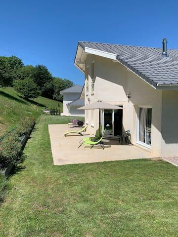 Maison entre Genève, Chamonix et Annecy