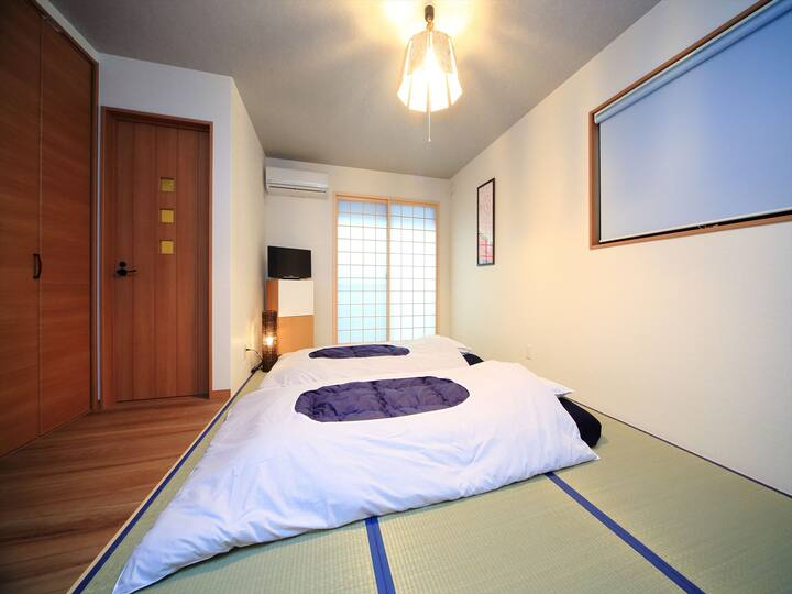 Cozy apartment near Toji temple/Free Bicycles!