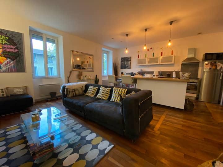 Appartement cosy style contemporain