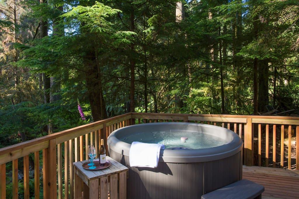 Hot tub for any season