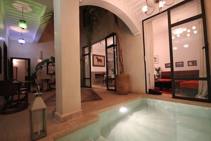 Chambre d'hôte dans Riad de charme Marrakech - Marrakech