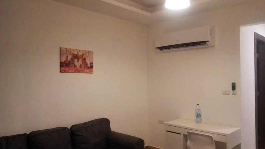 Fully furnished studio