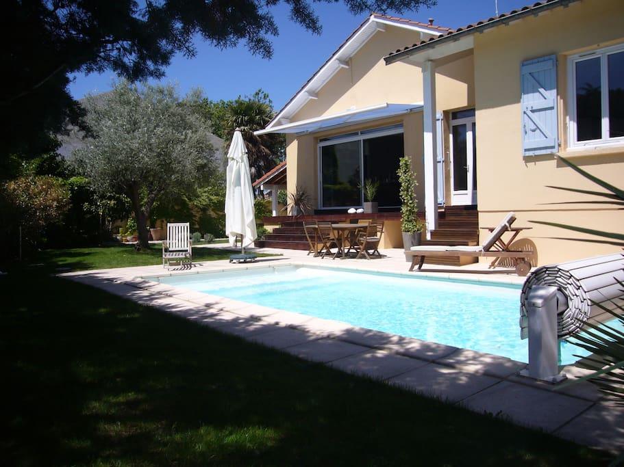 Belle maison de ville avec piscine maisons louer for Maison de ville toulouse