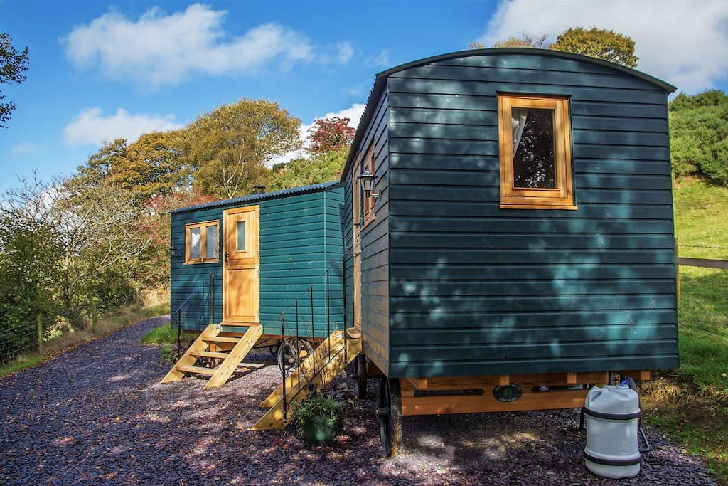 Our 2 Shepherds Huts