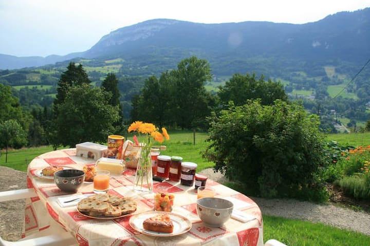 Chambres entre Lac et Montagnes - Saint-Franc