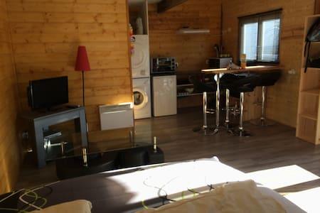 loue studio chez l'habitant - Parentis-en-Born - Chatka w górach
