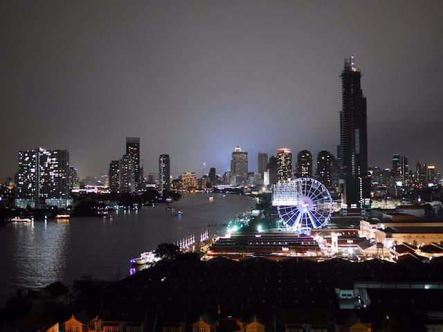 Bangkok's Stunning Riverside view - Bangkok - Apartment