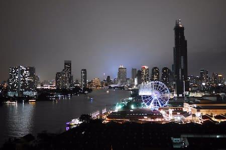 FREE WIFI / Stunning Riverside view - 曼谷