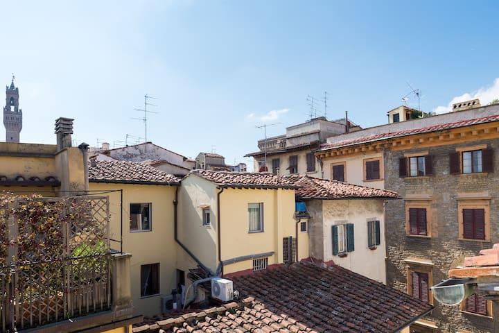 Via del corso from the balcony
