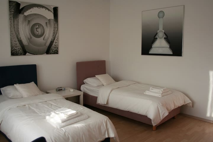 Two single bed bedroom - Grabrovnik - House