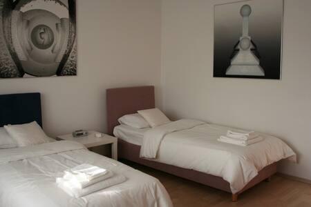 Two single bed bedroom - Grabrovnik - Ev