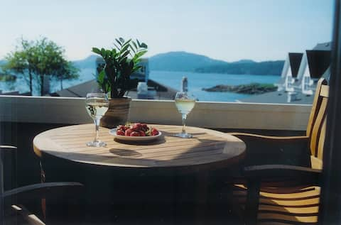 Water View! Luxury condo-style suite, Orcas Island