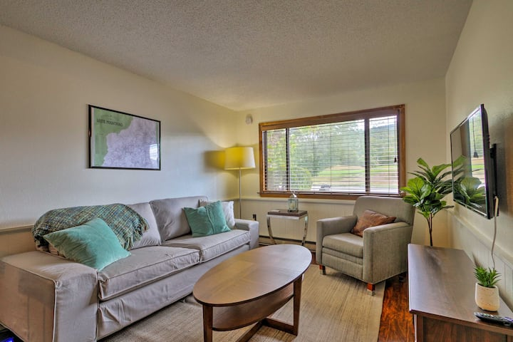 Glen Condo on Golf Course, 3 Mins to Story Land!