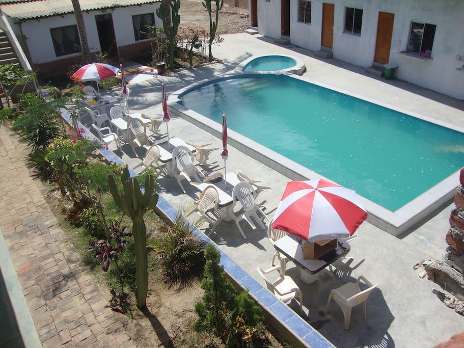 Beautiful Mediterannean style pool!