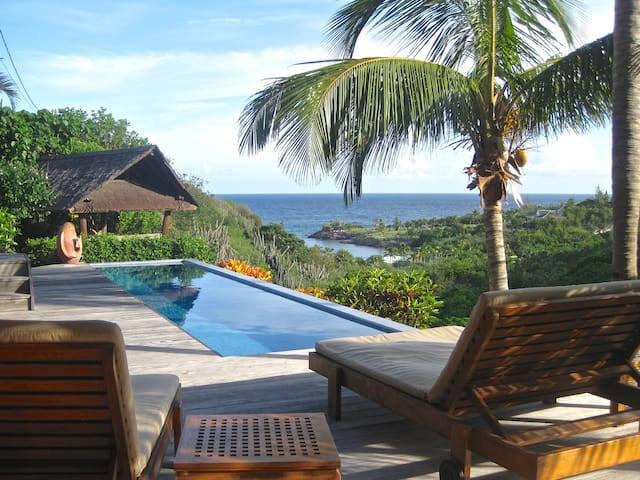 Ocean View Suite with Pool - Saint Barthelemy