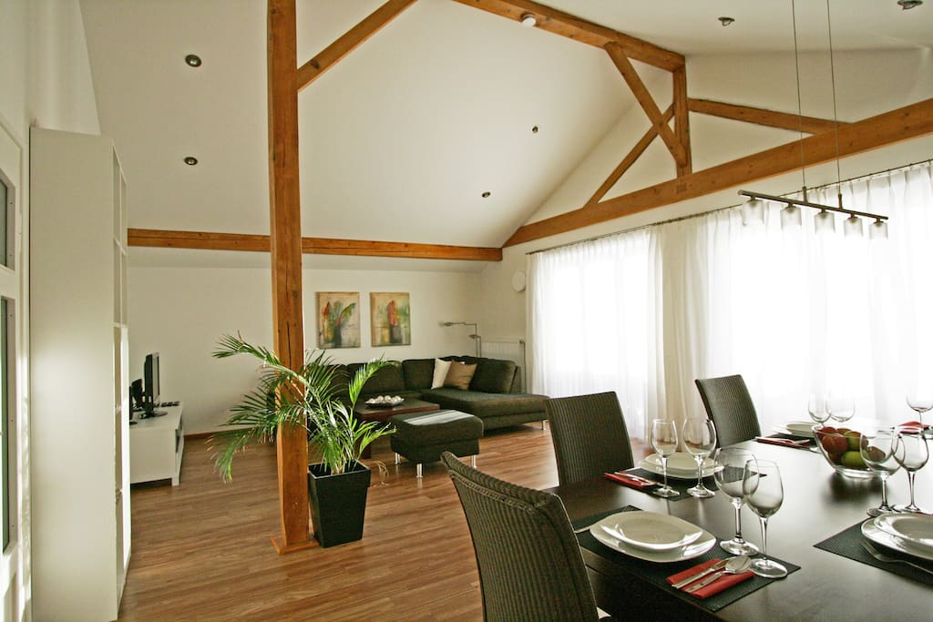 Wohn-Esszimmer  Dining-Livingroom