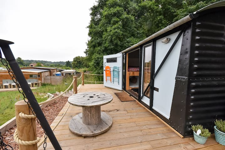 Ronnie - Converted Goods Railway Carriage