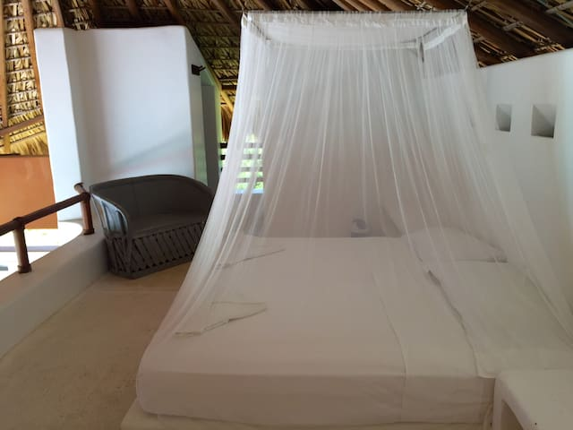 This is the third bedroom, beautiful view, it´s opened and above the living room
