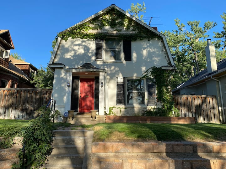 Historic Wash Park home two blocks from the park