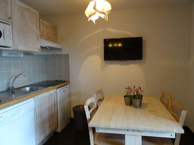 appartement coquet avec vue  - Luz-Saint-Sauveur - Apartmen