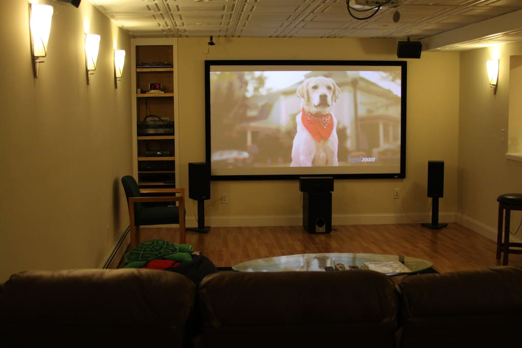 View of theater room
