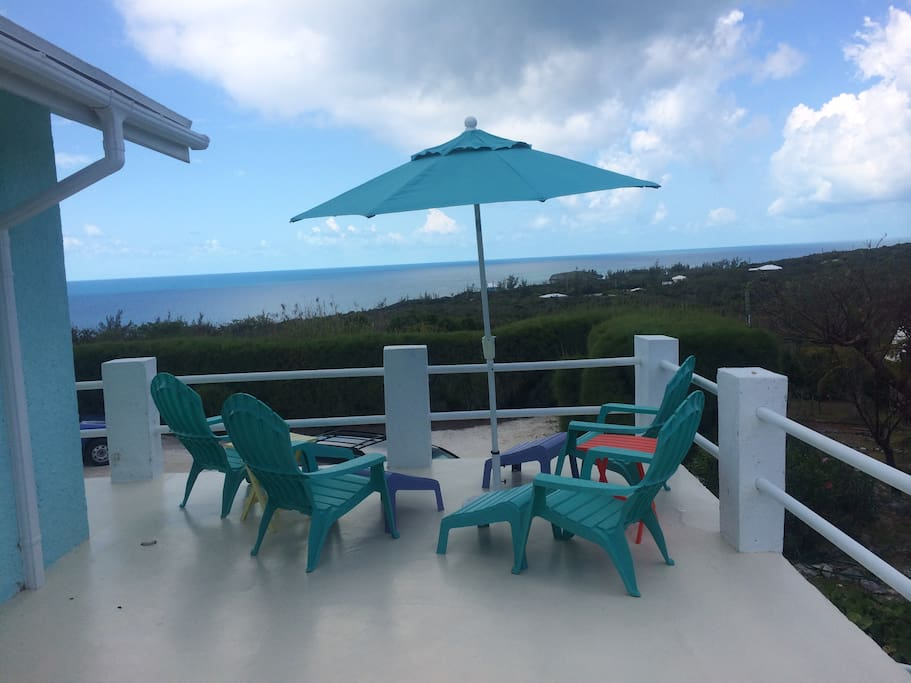 View of Atlantic from patio