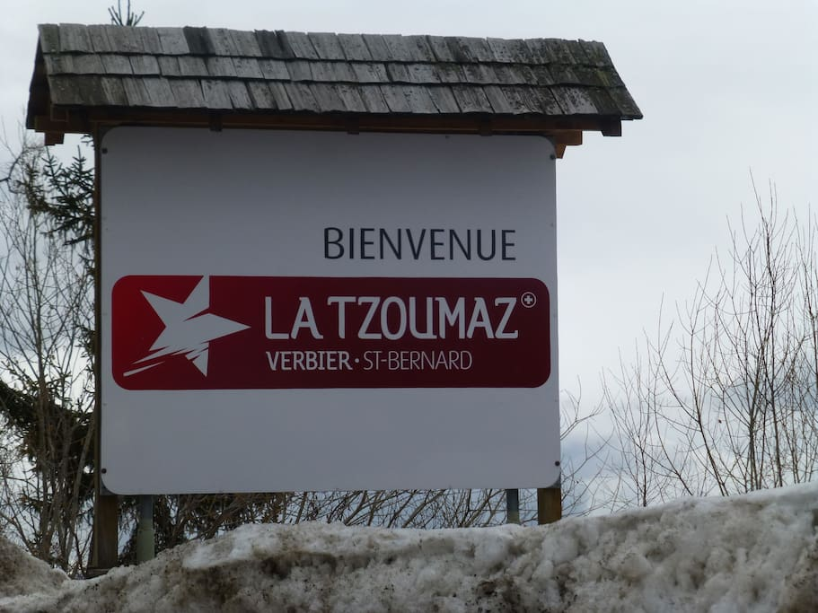 Located at 4 Vallées skying area