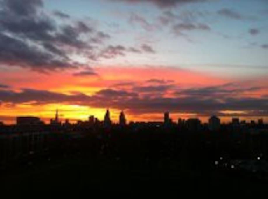 Nice at sunset!