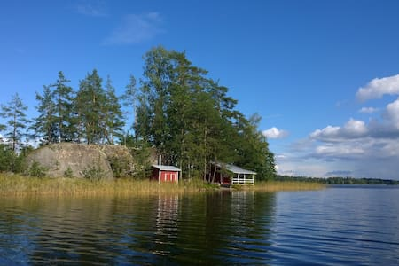 Summer cottage on an island - Savonlinna