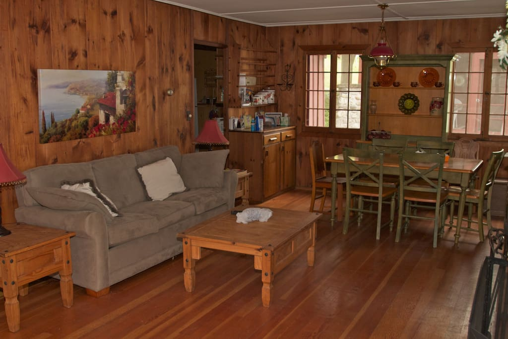 living room- main cottage