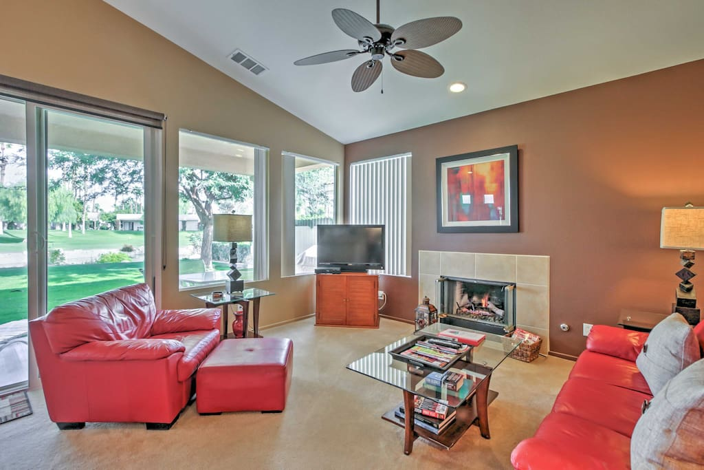 Spread out in the spacious living space, all tastefully appointed and comfortably furnished for your ultimate getaway.