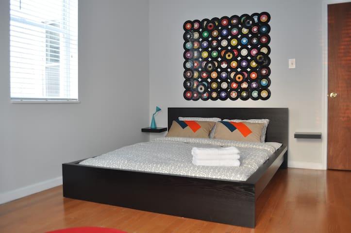 Retro Room in Great Location - Philadelphia - Rumah