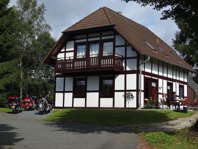 Mooi app in prachtige omgeving - Frankenau - Apartamento