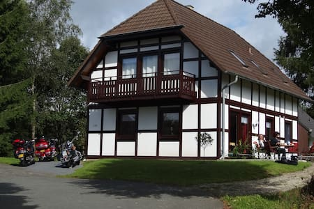 Schönes Appartement im Kellerwald - Frankenau - Apartment